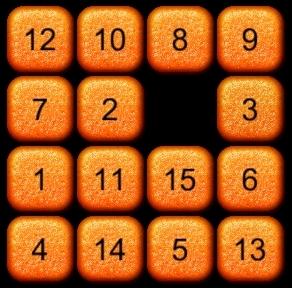 状態Bからパネル3を右に移動(状態C)